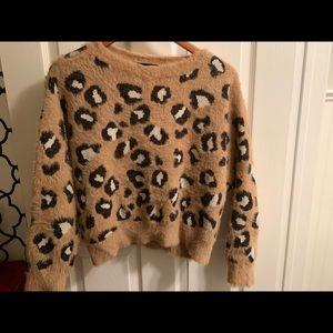 Cheetah print Express Sweater